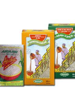 Céréales, farines et semoules